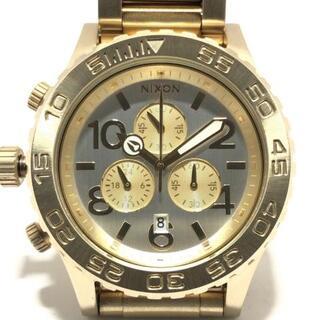 ニクソン(NIXON)のニクソン 腕時計美品  Chrono A037 1219(腕時計)