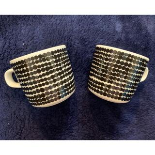 marimekko - マリメッコ  oivaラシィマット コーヒーカップ 2個