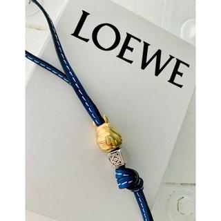 LOEWE - Loewe トトロチャーム、ダイスチャーム、レザーストラップ
