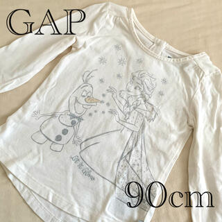 ディズニー(Disney)のGAP アナ雪ロンT 90cm(Tシャツ/カットソー)