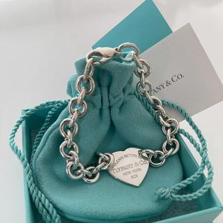Tiffany & Co. - 新品未使用 ティファニー ハート タグ ブレスレット