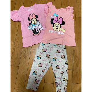 ディズニー(Disney)のディズニー ミニー セットアップ サイズ4(Tシャツ/カットソー)