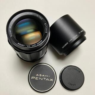 ペンタックス(PENTAX)の希少 美品 M42 SMC TAKUMAR 150mm F4 付属多数 タクマー(レンズ(単焦点))