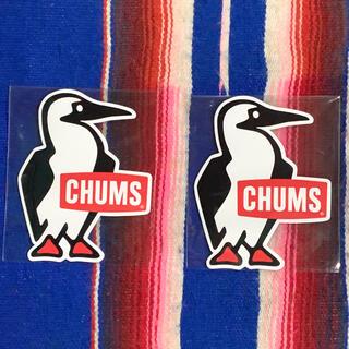 CHUMS - 新品 CHUMS Sticker 2枚セット チャムス ステッカー u