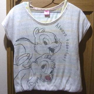 ディズニー(Disney)のディズニー チップとデールのTシャツ サイズ160 (897)(Tシャツ/カットソー)