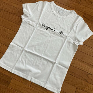agnes b. - ☆新品 アニエスベー  Tシャツ ホワイト サイズ2