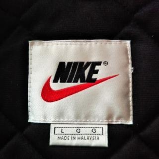 ナイキ(NIKE)の90'S 白タグ ビッグシルエット ナイキ 中綿 ナイロンジャケット(ナイロンジャケット)