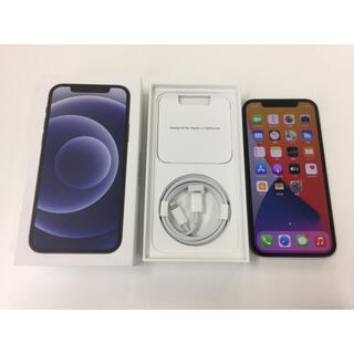 Apple - AppleCare付 SIMフリー iPhone12 128GB 新品同様 黒