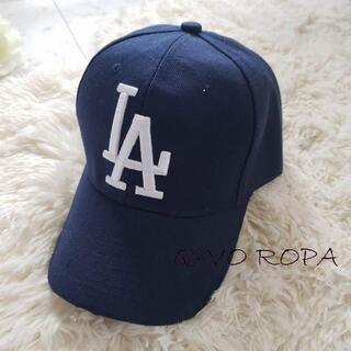 LADodgers刺繍CAP【ネイビー】05-04-1