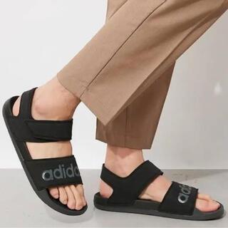 アディダス(adidas)の新品 アディダス 27.5cm サンダル(サンダル)
