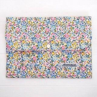 リバティ 母子手帳ケース エマ・アンド・ジョージーナ/イエロー B6サイズ(母子手帳ケース)