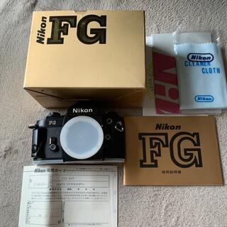Nikon - Nikon FG 本体 未使用