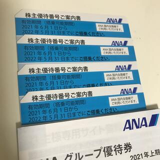 エーエヌエー(ゼンニッポンクウユ)(ANA(全日本空輸))のANA株主優待4枚(その他)