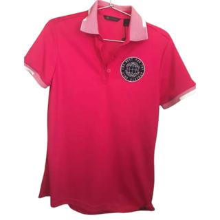 アディダス(adidas)のポロシャツ レディース L ピンク 定価1万 今季(ウエア)