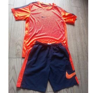 ナイキ(NIKE)のナイキキッズ Tシャツ&ハーフパンツセット キッズM140150(Tシャツ/カットソー)