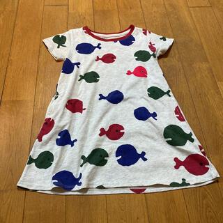Design Tshirts Store graniph - きんぎょが逃げたワンピース  110