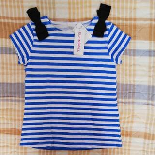 西松屋 - 新品☆サイズ120 ボーダー Tシャツ