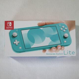 Nintendo Switch - 新品 Nintendo Switch Lite 本体 ターコイズ 保証書シール付