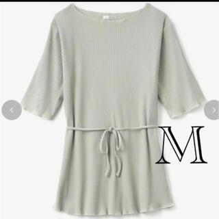 シマムラ(しまむら)の新品terawear emu メロウT ミントグリーン(Tシャツ(半袖/袖なし))