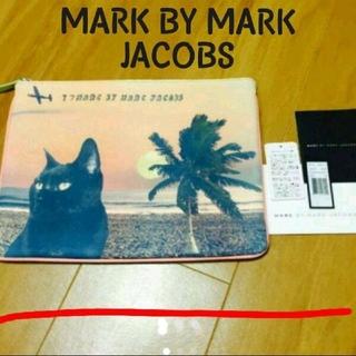 マークバイマークジェイコブス(MARC BY MARC JACOBS)の美品(未使用) MARK BY MARK JACOBS  クラッチバッグ(クラッチバッグ)