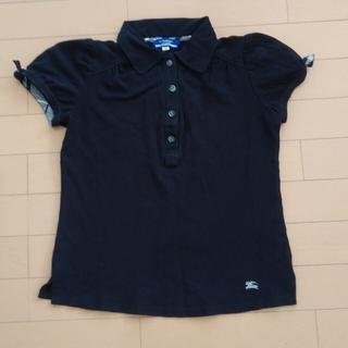 BURBERRY BLUE LABEL - BURBERRY BLUE LABELバーバリーブルーレーベルポロシャツ黒38