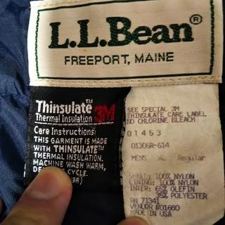 エルエルビーン(L.L.Bean)の90'S USA製 名作 L.L.Bean チロリアン アノラック シンサレイト(マウンテンパーカー)