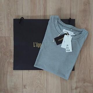 L'Appartement DEUXIEME CLASSE - 新品未使用タグ付 アパルトモン ラカウサ Tシャツ ブルー Kai Tee