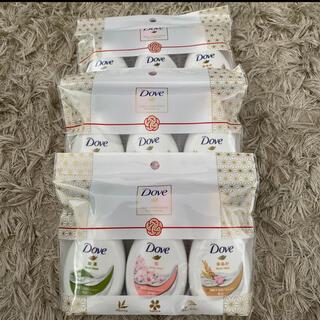 ユニリーバ(Unilever)のユニリーバ ダヴ ボディウォッシュ 日本限定ミニボトル3種セット45g×3種(ボディソープ/石鹸)