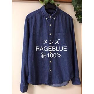 RAGEBLUE - RAGEBLUE メンズ シャツ 綿100% カットソー   Mサイズ