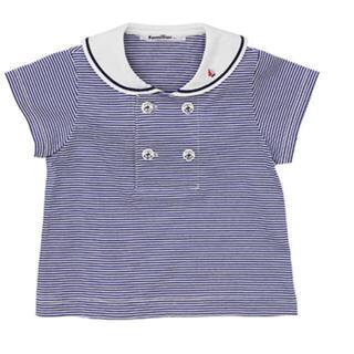 familiar - セーラーTシャツ