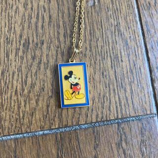 ミッキーマウス  ヴィンテージ ネックレス(ネックレス)