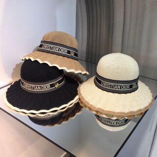 ディオール(Dior)のハット2枚16000 DIOR 帽子  #5(ハット)