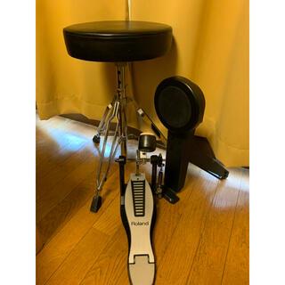パール(pearl)のドラム椅子、ペダル、キックパッド3点セット(その他)