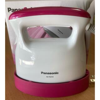 パナソニック(Panasonic)のPanasonic 衣類スチーマー ビビッドピンク調 NI-FS310-VP(アイロン)