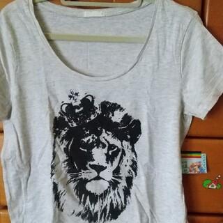 ジーユー(GU)のレディースTシャツ L(Tシャツ(半袖/袖なし))