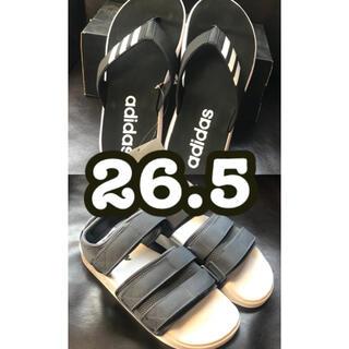 アディダス(adidas)の【2個セット】 アディダス adidas サンダル 新品 送料無料(サンダル)