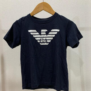 Emporio Armani - 定価1.7万 サイズアウト エンポリオアルマーニ キッズ Tシャツ 8A ロゴ