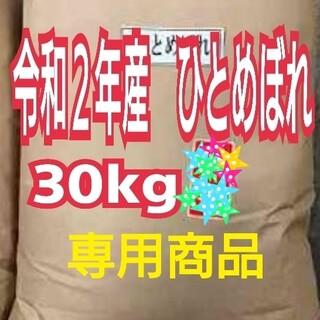 お米 ひとめぼれ【令和2年産】精米済み 30キロ(5kg×6)(米/穀物)