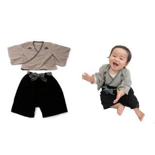 スリーコインズ(3COINS)の未使用 ベビー袴(和服/着物)