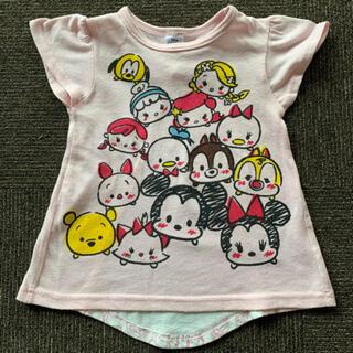 ディズニー(Disney)の美品!ディズニー ツムツム 100センチTシャツ(Tシャツ/カットソー)