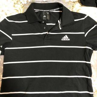 アディダス(adidas)のadidas ポロシャツ Lサイズ (ポロシャツ)