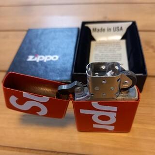 Supreme - supreme logo zippo 新品未使用!最安値!