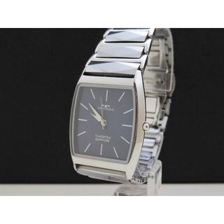 TECHNOS - TECHNOS 腕時計 タングステン サファイアクリスタル