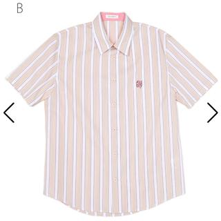 ミルクボーイ(MILKBOY)の美品 MILKBOY ストライプ シャツ(シャツ)