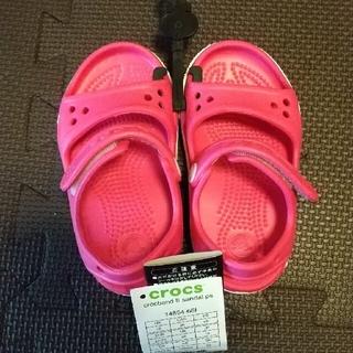 crocs - 新品クロックスサンダル 14センチ