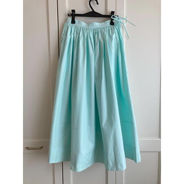 Drawer(ドゥロワー)の専用☆Drawer ドゥロワー ウェストコードギャザースカート ¥58,300 レディースのスカート(ロングスカート)の商品写真