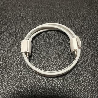 アップル(Apple)の【Apple純正】usb-c ライトニングケーブル 1メートル(バッテリー/充電器)