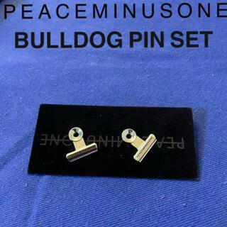 PEACEMINUSONE - レア PMO bulldog clip pin set #1 バッジ 韓国