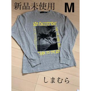 シマムラ(しまむら)のしまむら メンズ 紳士服 ロンT トップス M(Tシャツ/カットソー(七分/長袖))