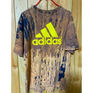 アディダス(adidas)のadidasタイダイtシャツ(Tシャツ/カットソー(半袖/袖なし))